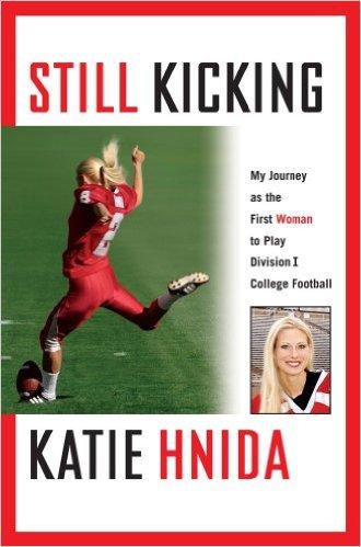 Katie Hnida - bog