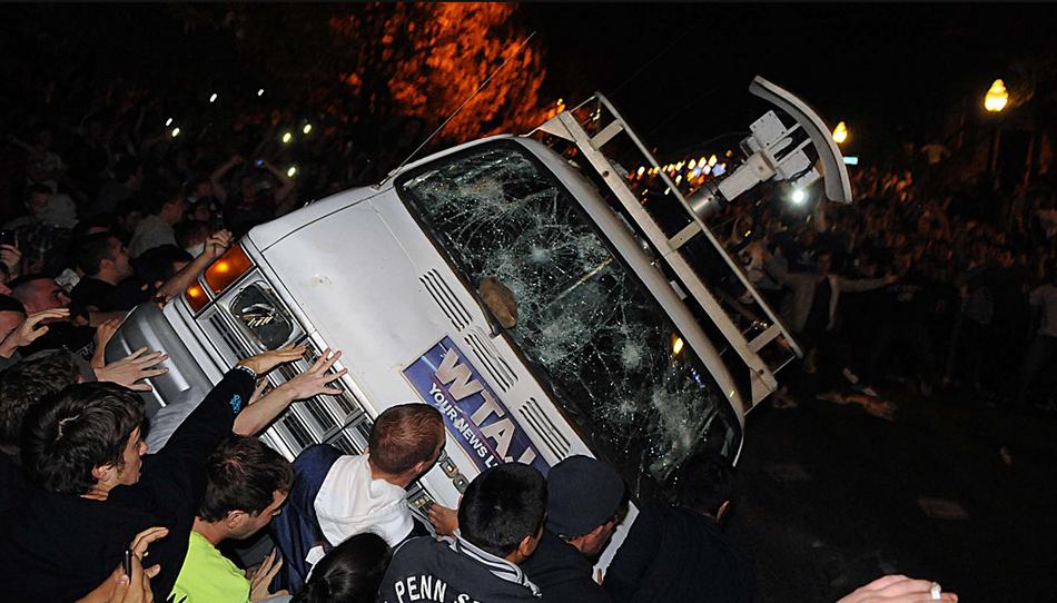 Penn State - TV Van
