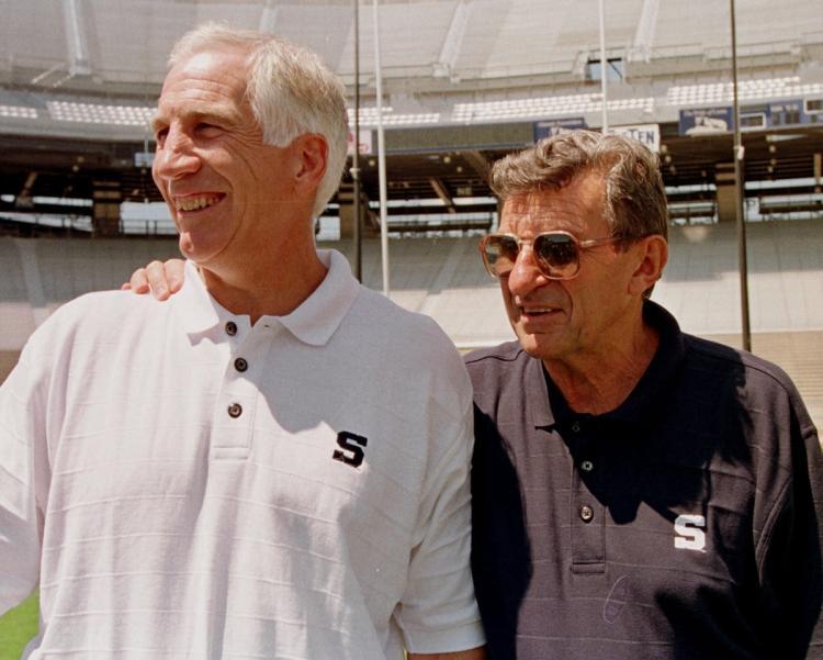 Jerry Sandusky og Joe Paterno